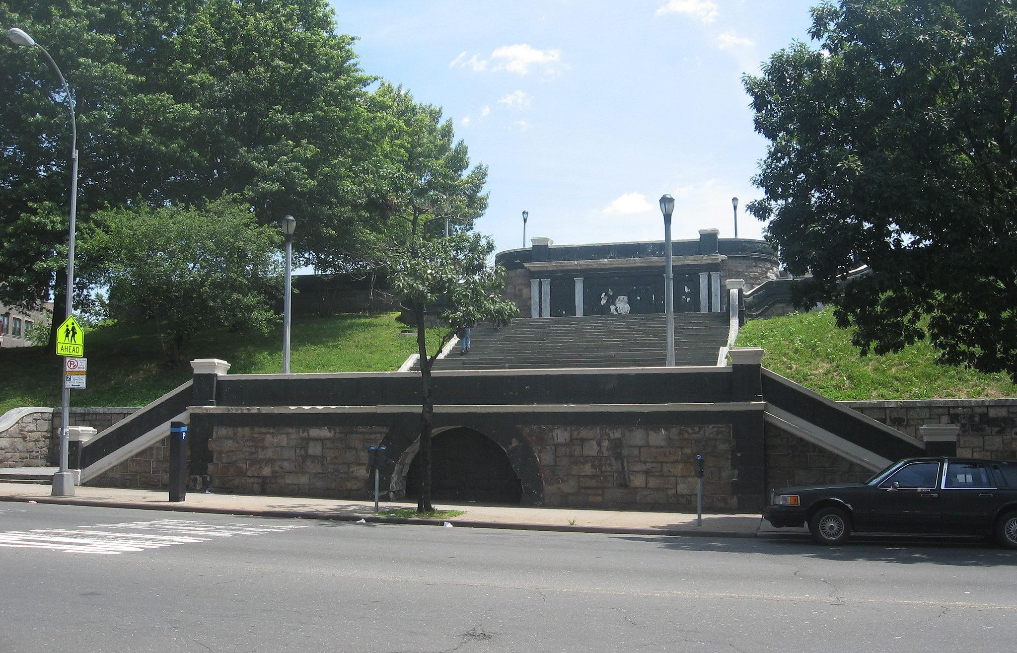 Staircase, Tremont Park, East Tremont by Matthew X. Kiernan